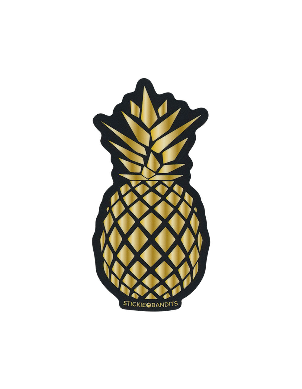 STICKIE BANDITS Pineapple Sticker
