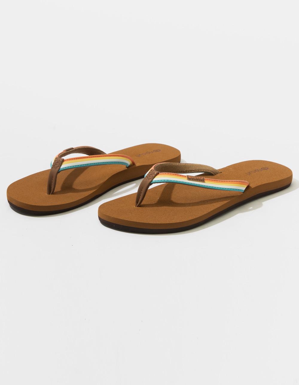 RIP CURL Freedom Tan Sandals