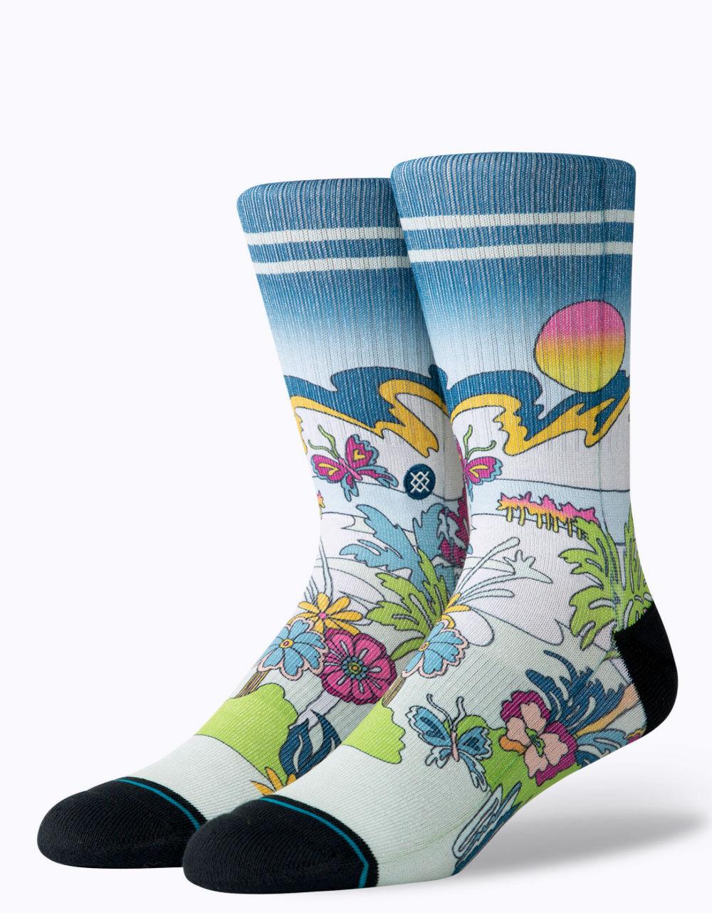 STANCE Total Paradise Crew Socks