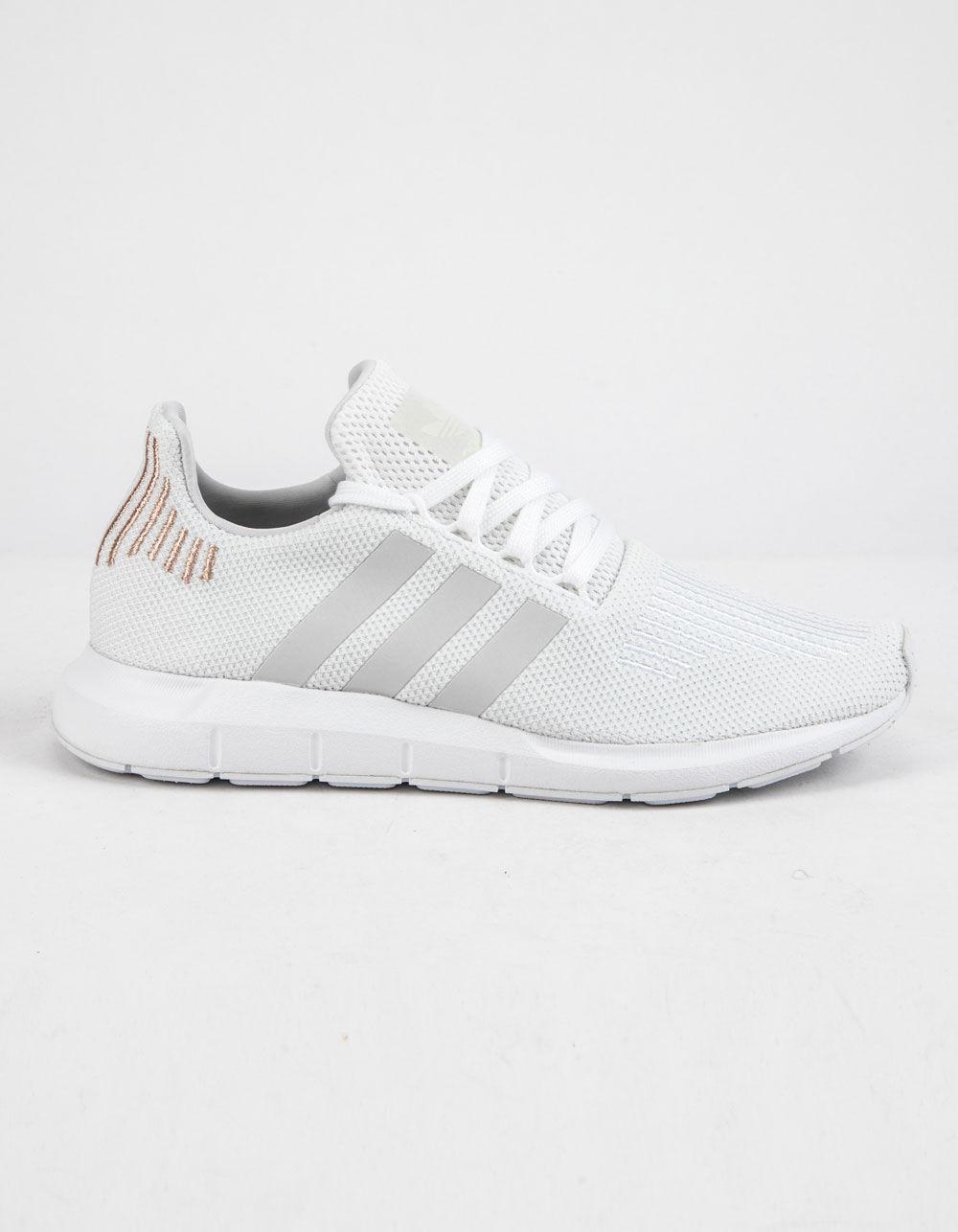ADIDAS Swift Run Cloud White & Crystal White Shoes