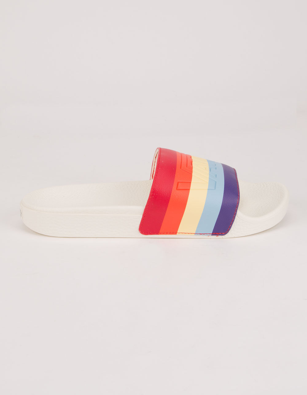 VANS Rad Rainbow Slide-On Marshmallow Sandals