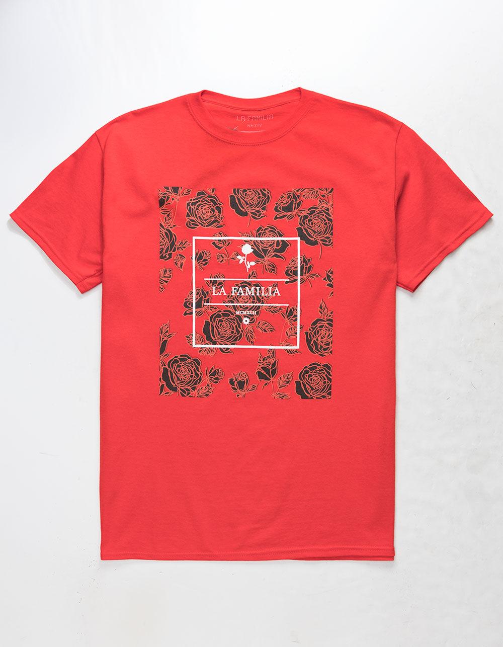 LA FAMILIA Core Rose Red T-Shirt