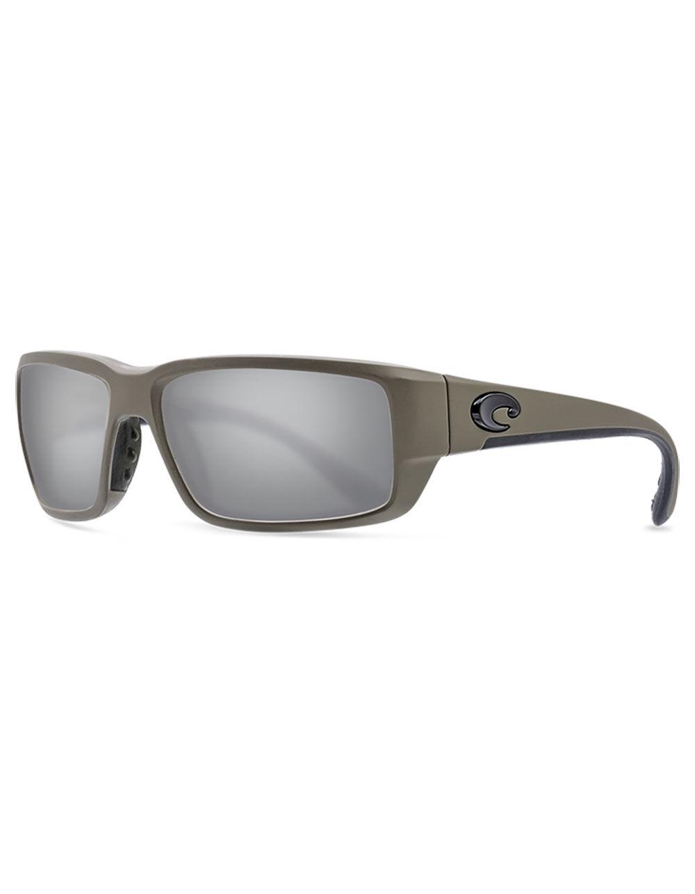 COSTA Fantail Matte Moss Polarized Sunglasses