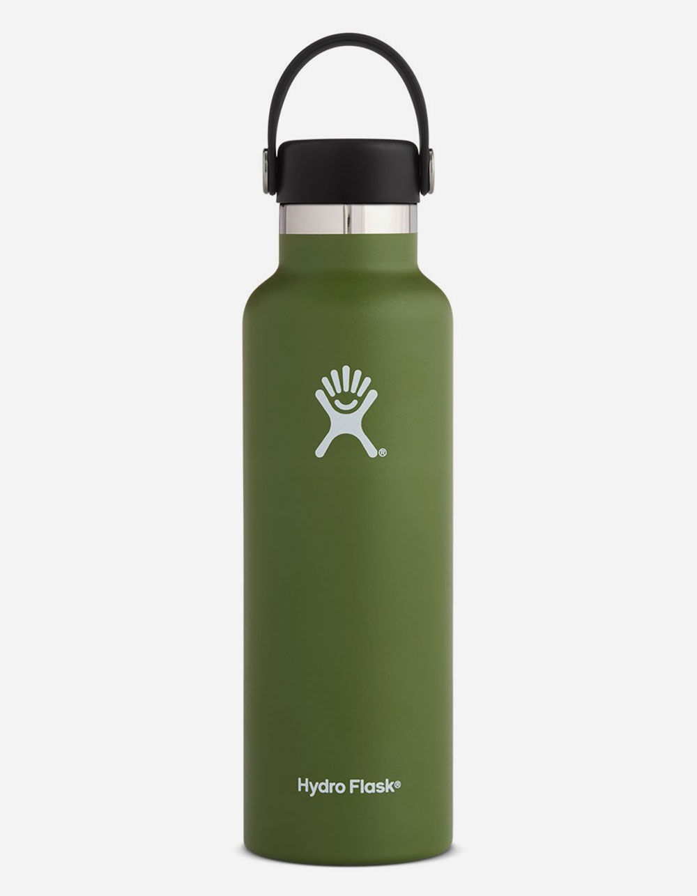 HYDRO FLASK Olive 21oz Standard Mouth Water Bottle