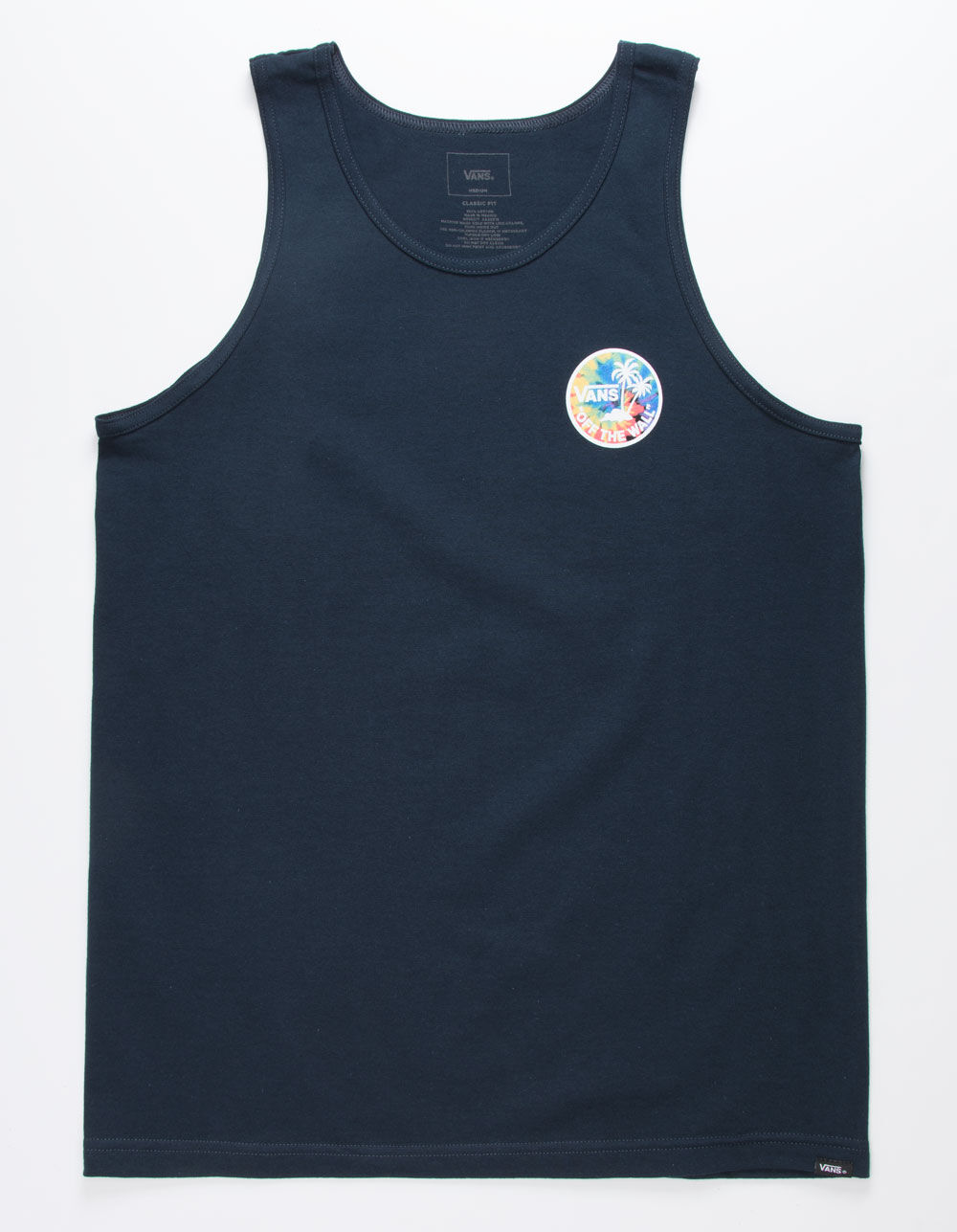 VANS Dual Palm Fill Tie Dye Tank Top