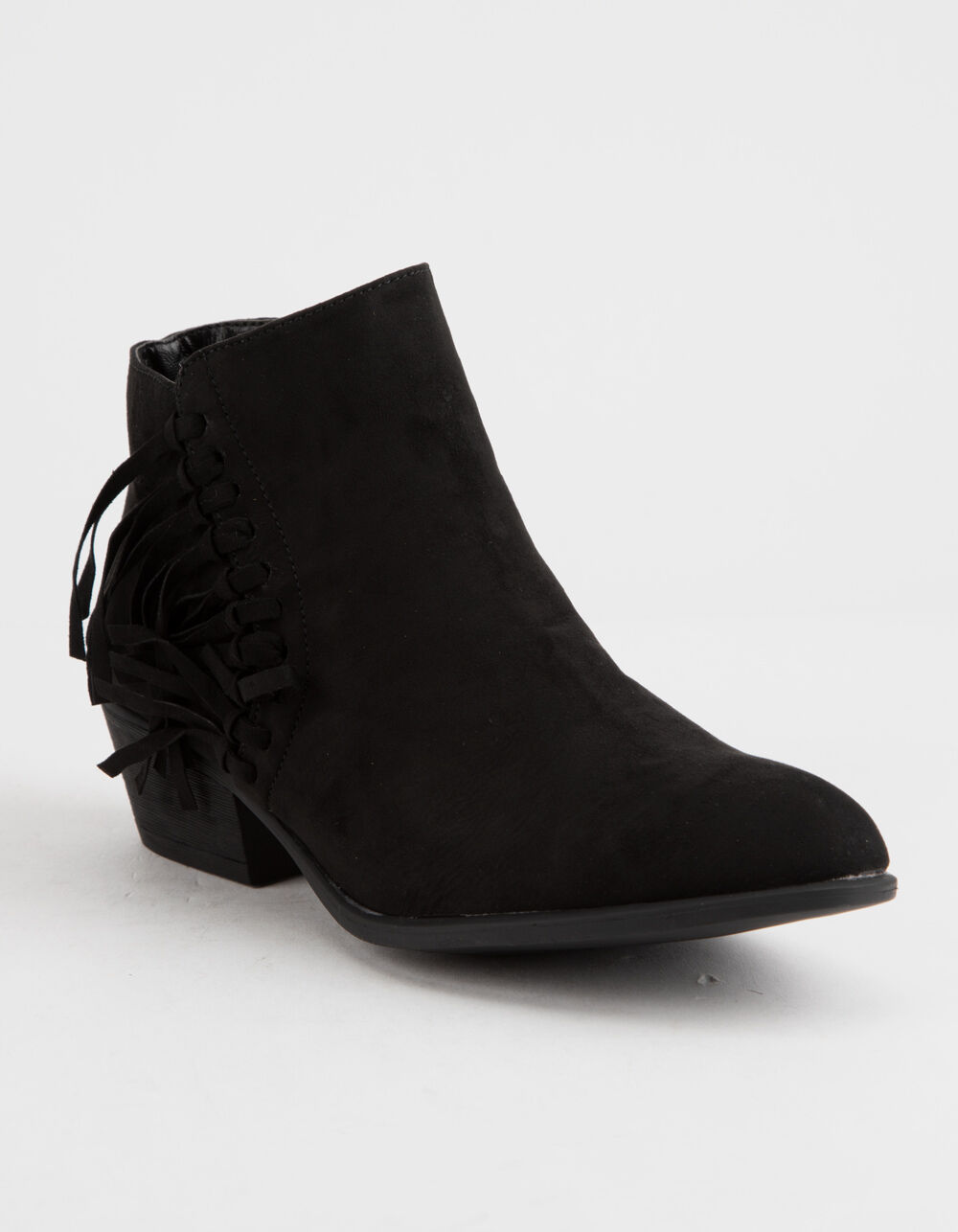 Image of BAMBOO SADIE BLACK BOOTIES