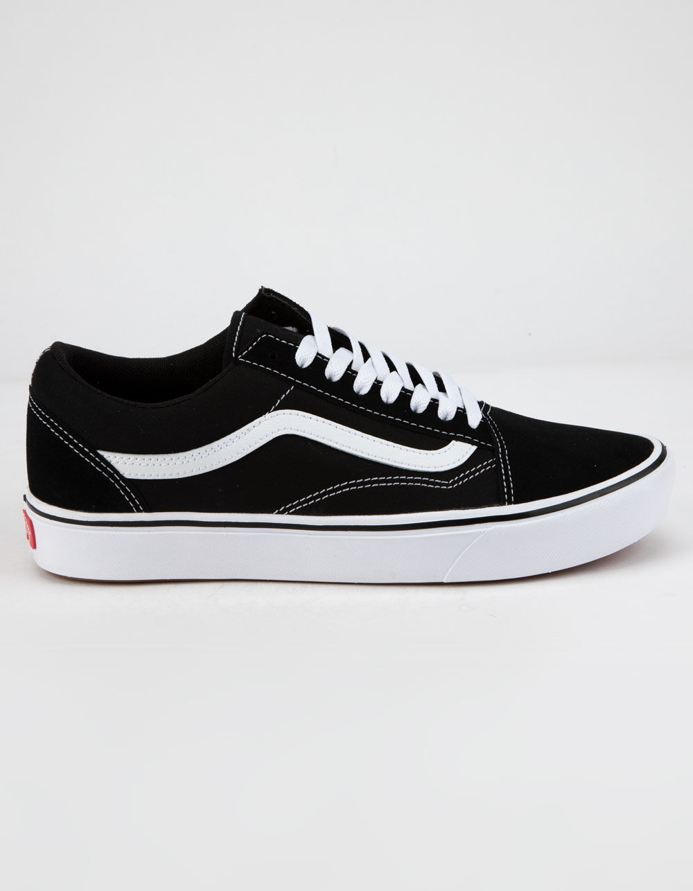 VANS ComfyCush Old Skool Black & True White Shoes