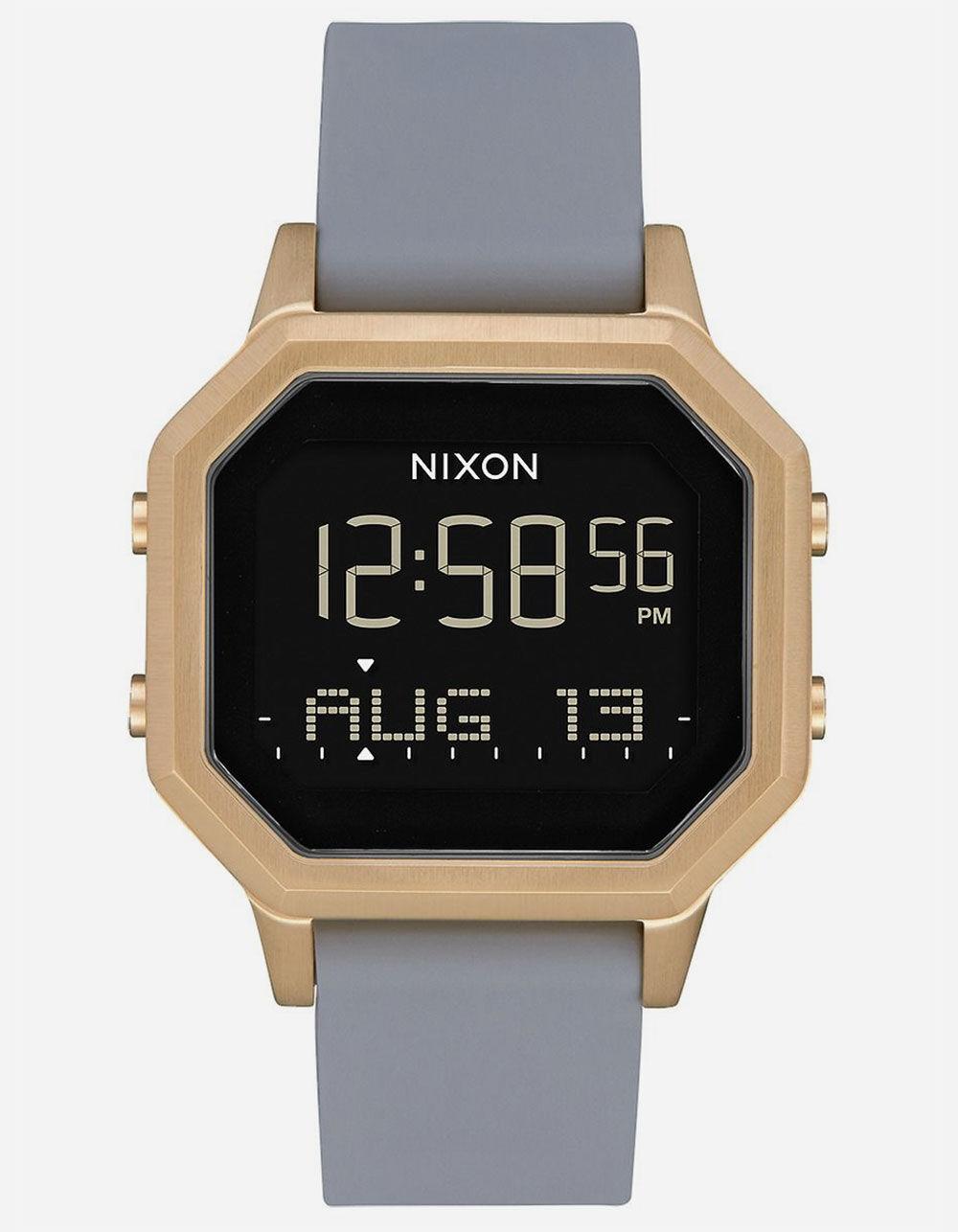 NIXON Siren SS Gold & Gray Watch