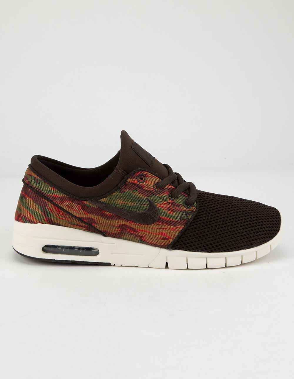 NIKE SB Stefan Janoski Max Velvet Brown Shoes