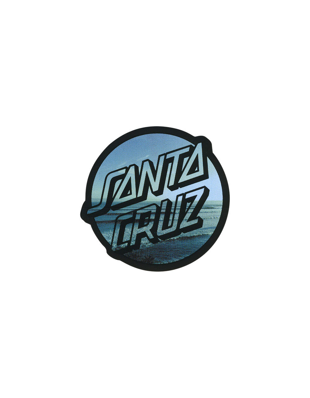 SANTA CRUZ Beach Sticker