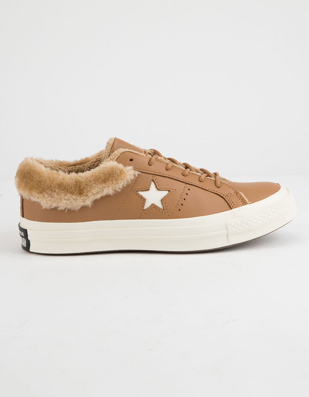 CONVERSE One Star Ox Fur Caramel Shoes