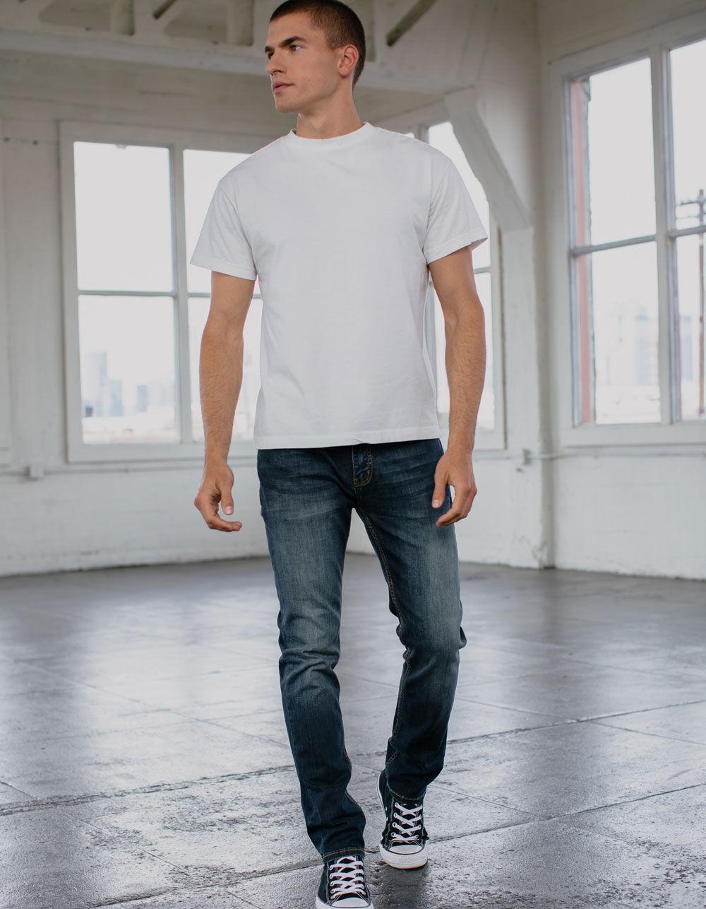RSQ Seattle Skinny Taper Rebel Jeans