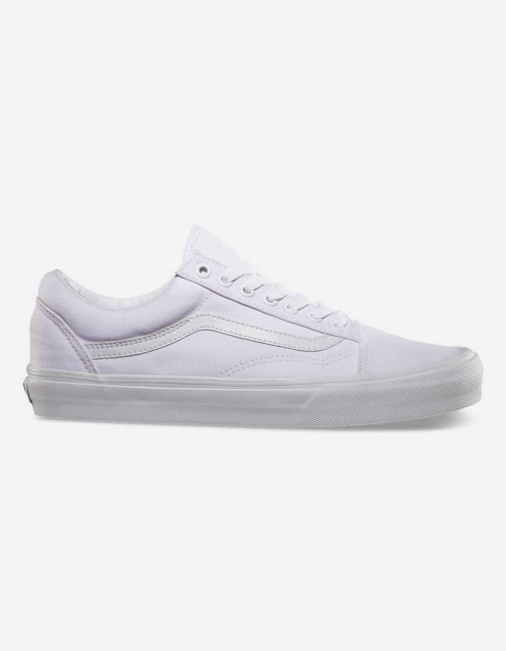 VANS CANVAS OLD SKOOL TRUE WHITE SHOES