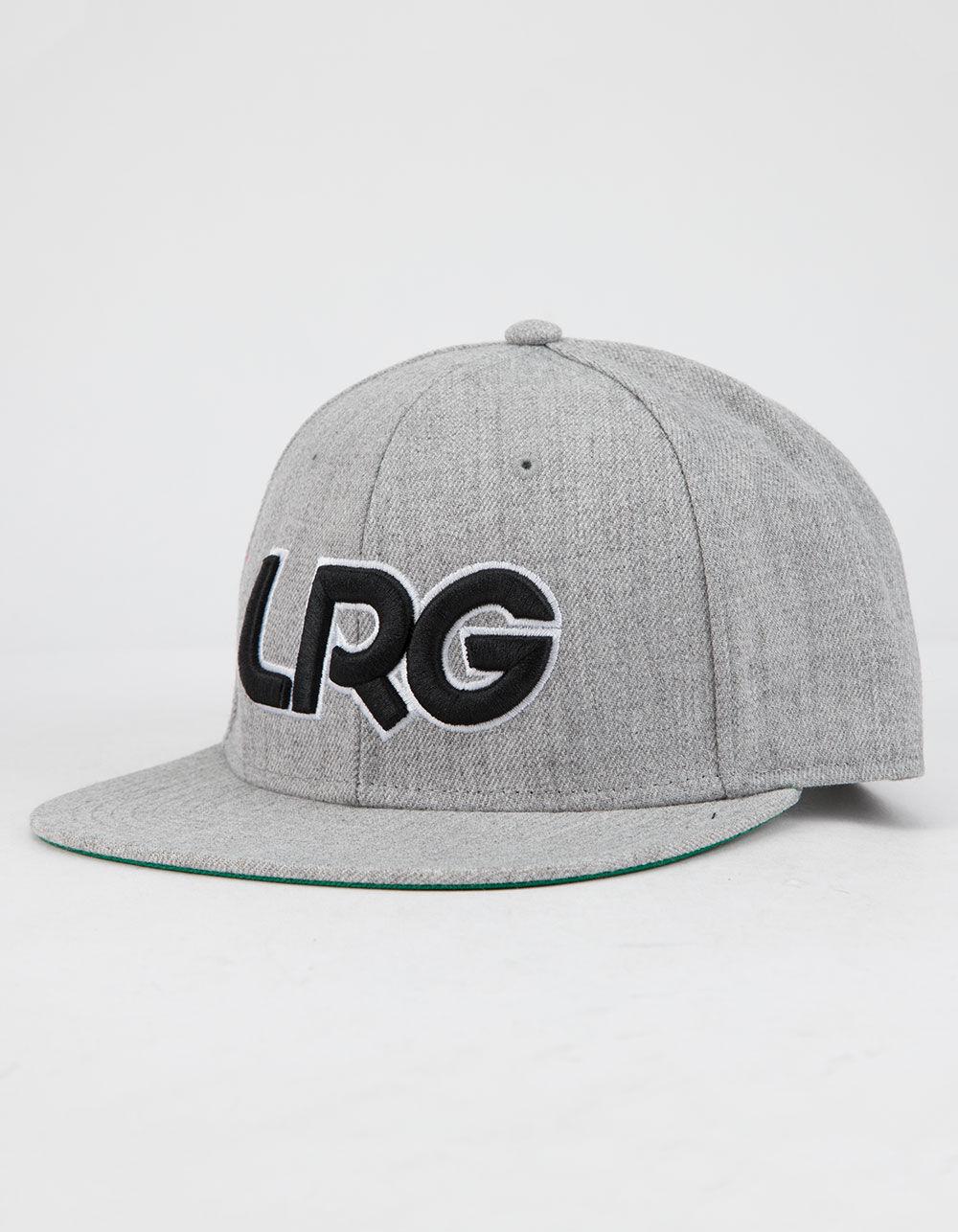 LRG Interception Gray Snapback Hat