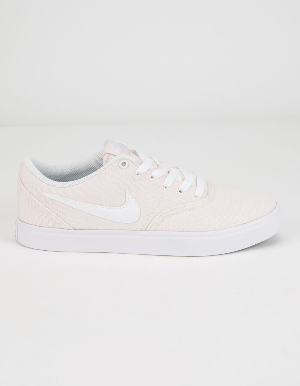 NIKE SB Check Solar Canvas Light Soft Pink & White Shoes