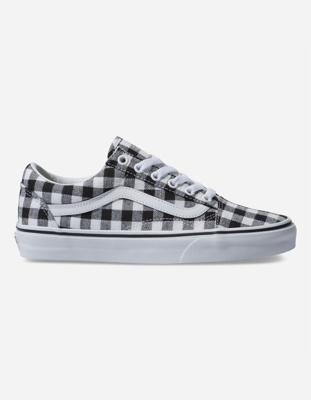 VANS Gingham Old Skool Black & True White Shoes