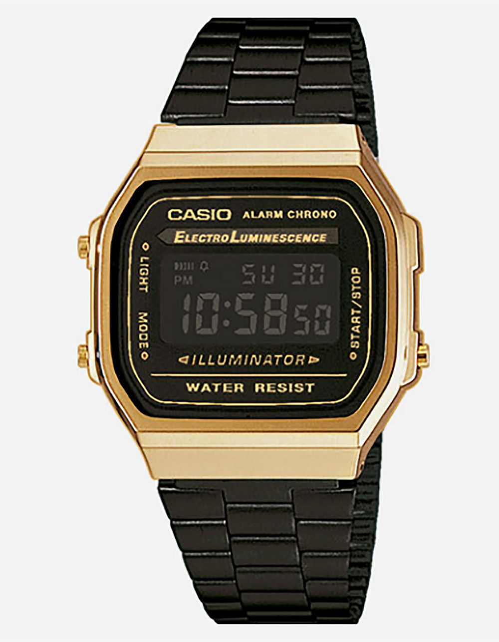 CASIO Vintage Collection A168WEGB-1B Watch