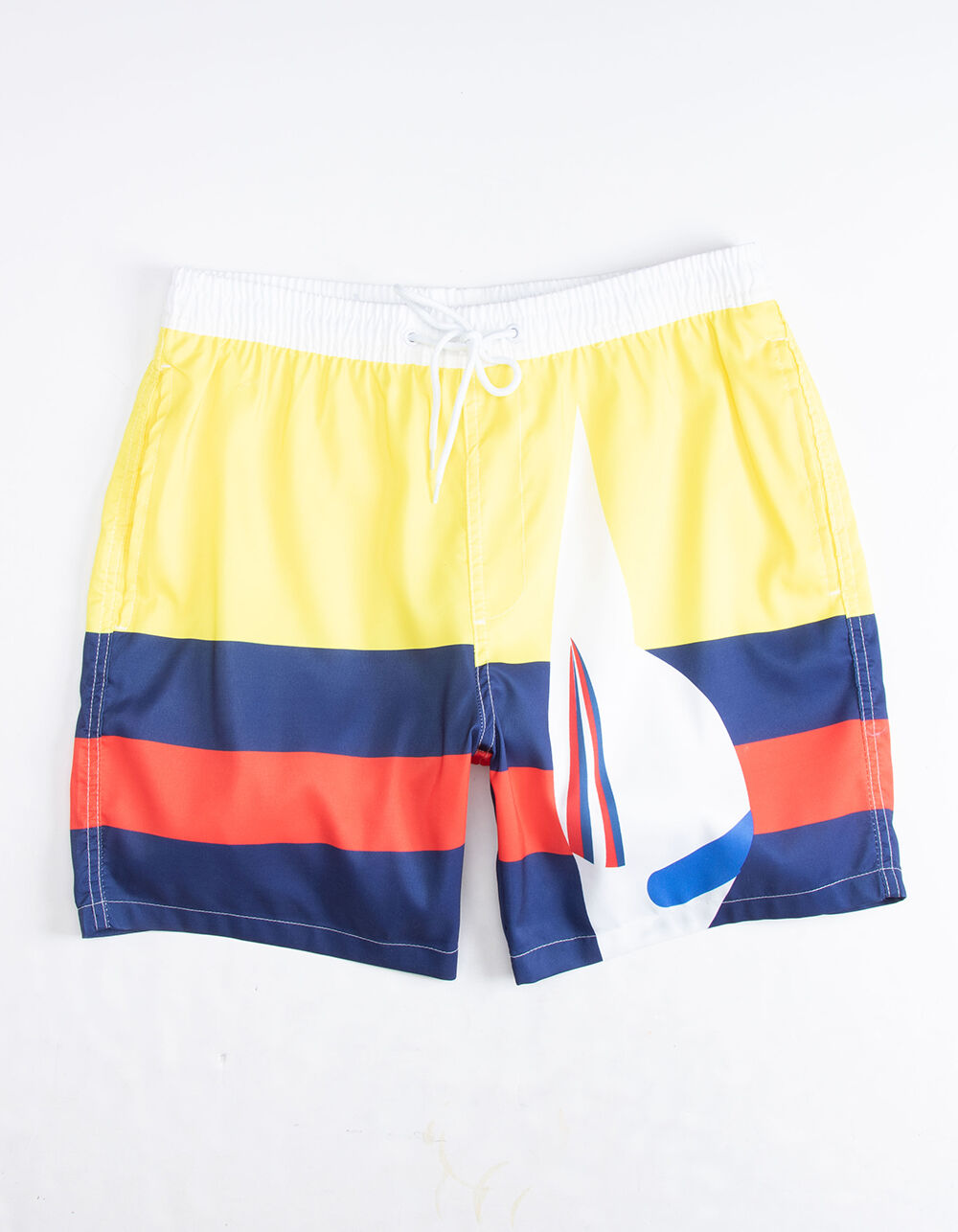 UNCLE RALPH Nautical Stripe Volley Shorts