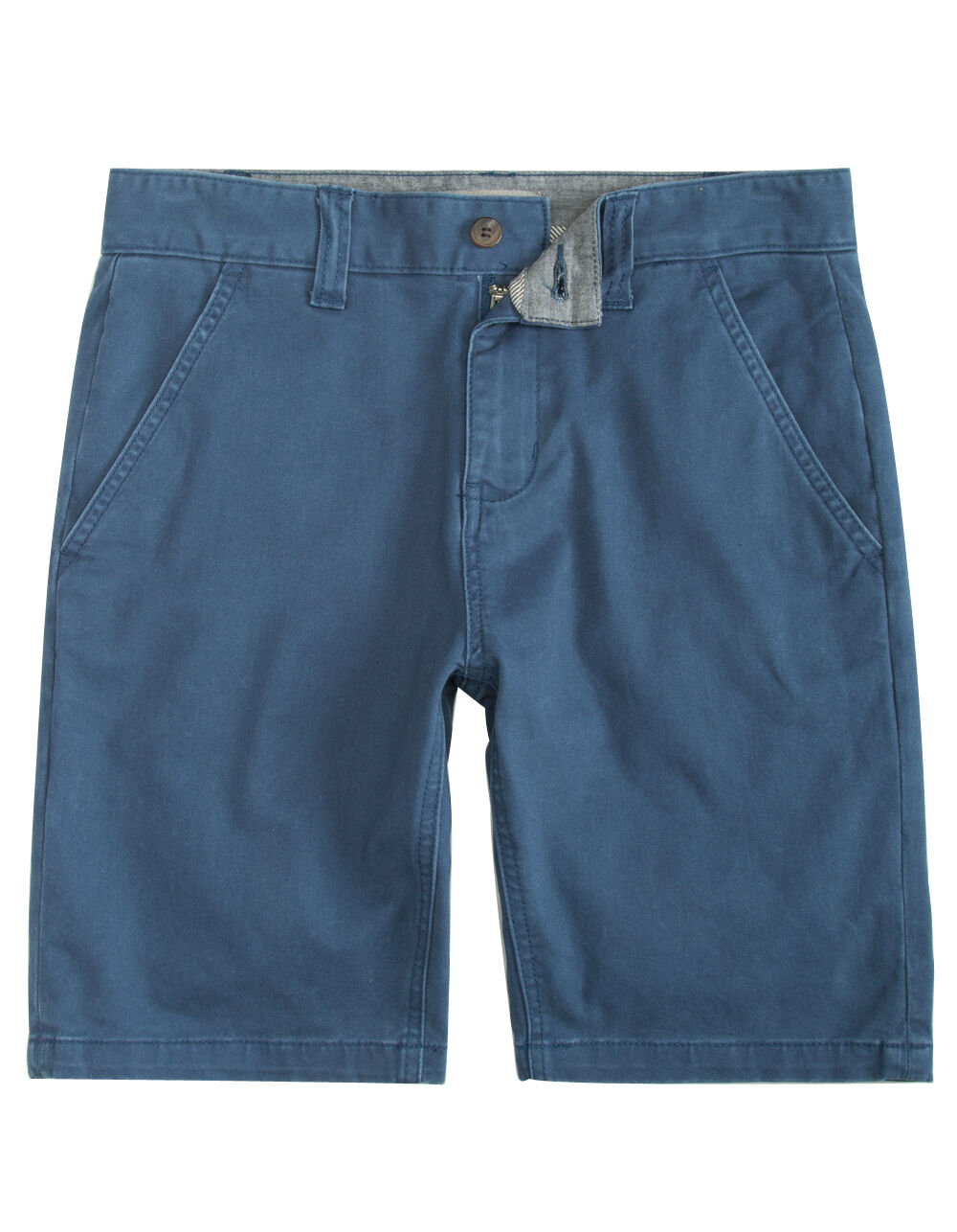 Image of CHARLES AND A HALF LINCOLN STRETCH BLUE SHORTS