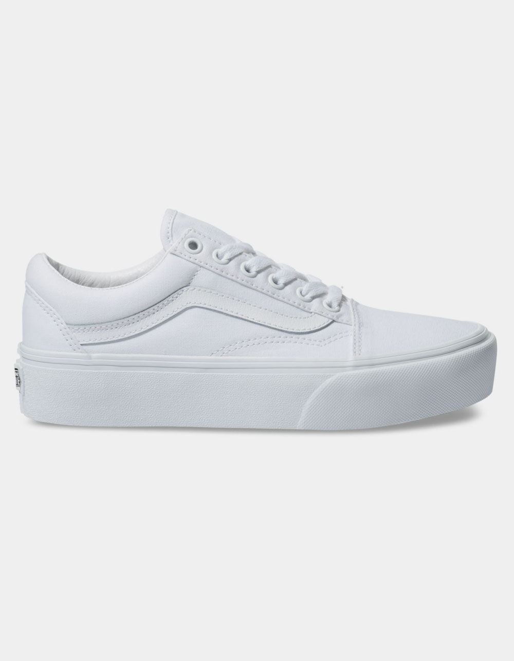 VANS Old Skool Platform True White Shoes