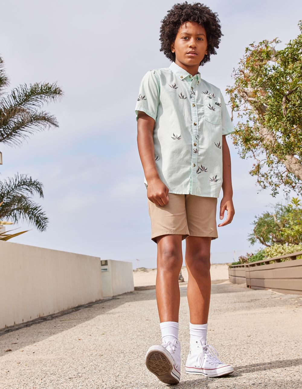 VOLCOM Frickin Chino Khaki Boys Shorts
