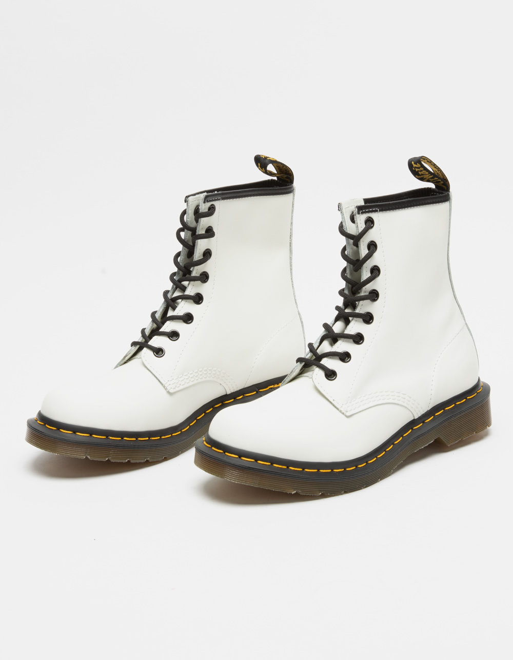 DR. MARTENS 1460 White Boots