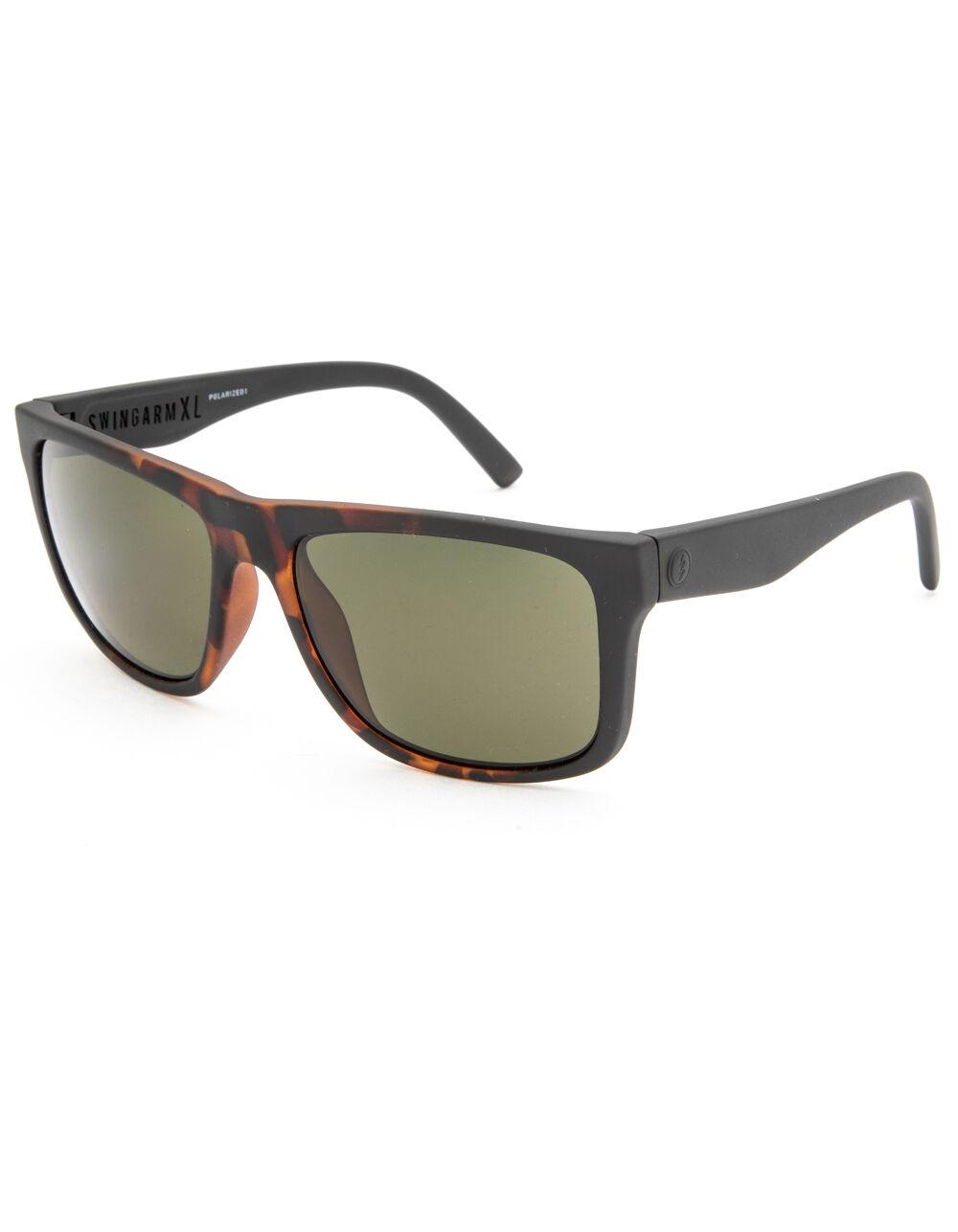 ELECTRIC Swingarm XL Matte Tortoise Polarized Sunglasses