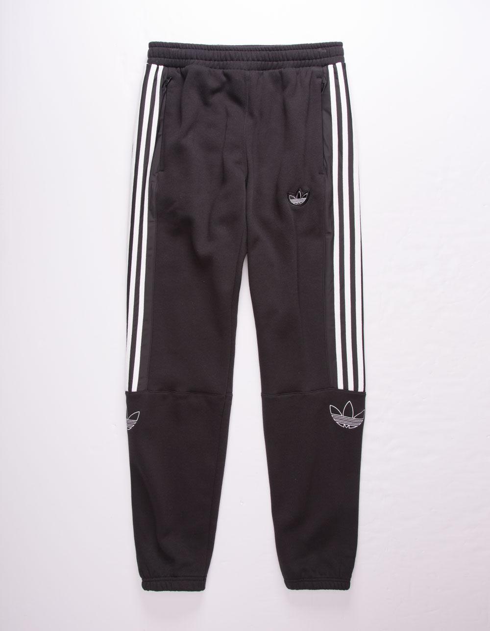 ADIDAS Outline Black Sweatpants