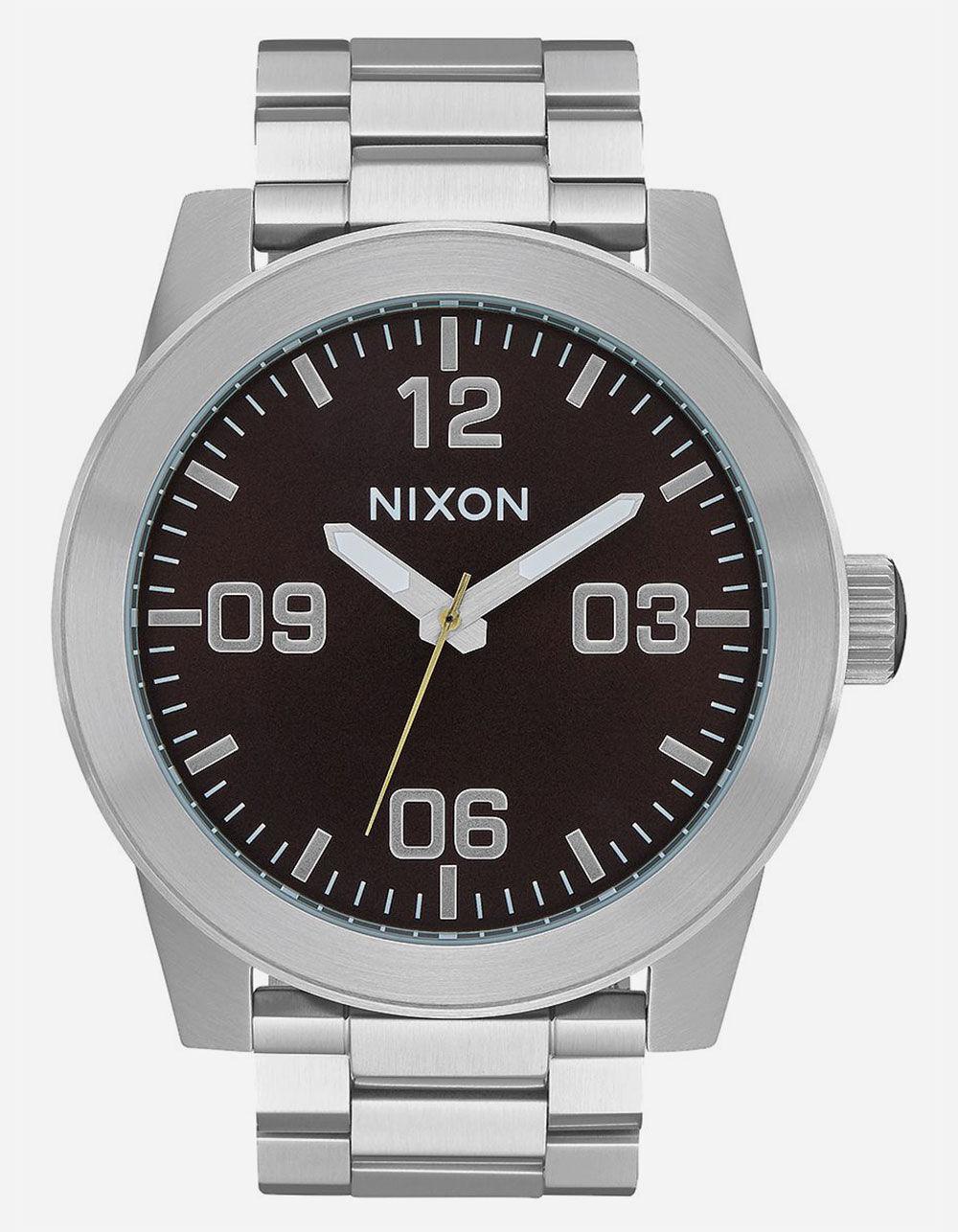 NIXON Corporal SS Dark Cedar Watch
