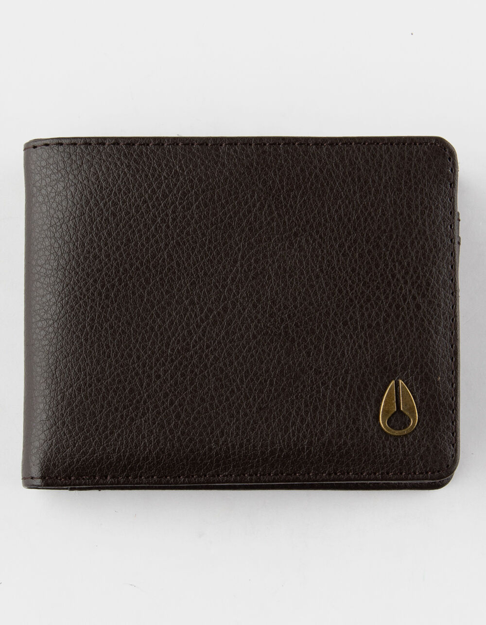 NIXON Cape Vegan Leather Brown Wallet