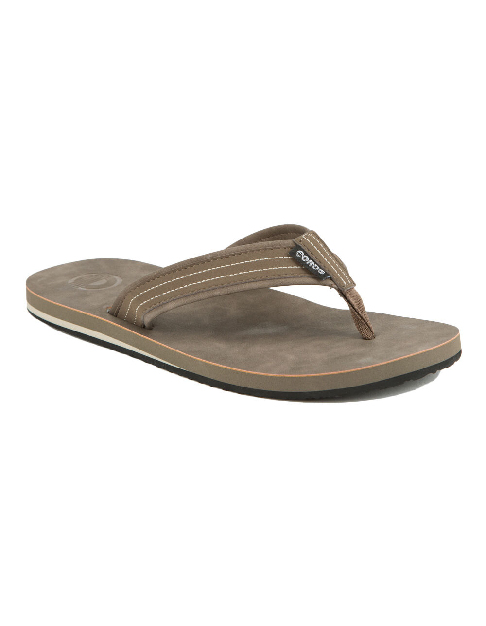 Image of CORDS COMMANDO 2 BROWN SANDALS