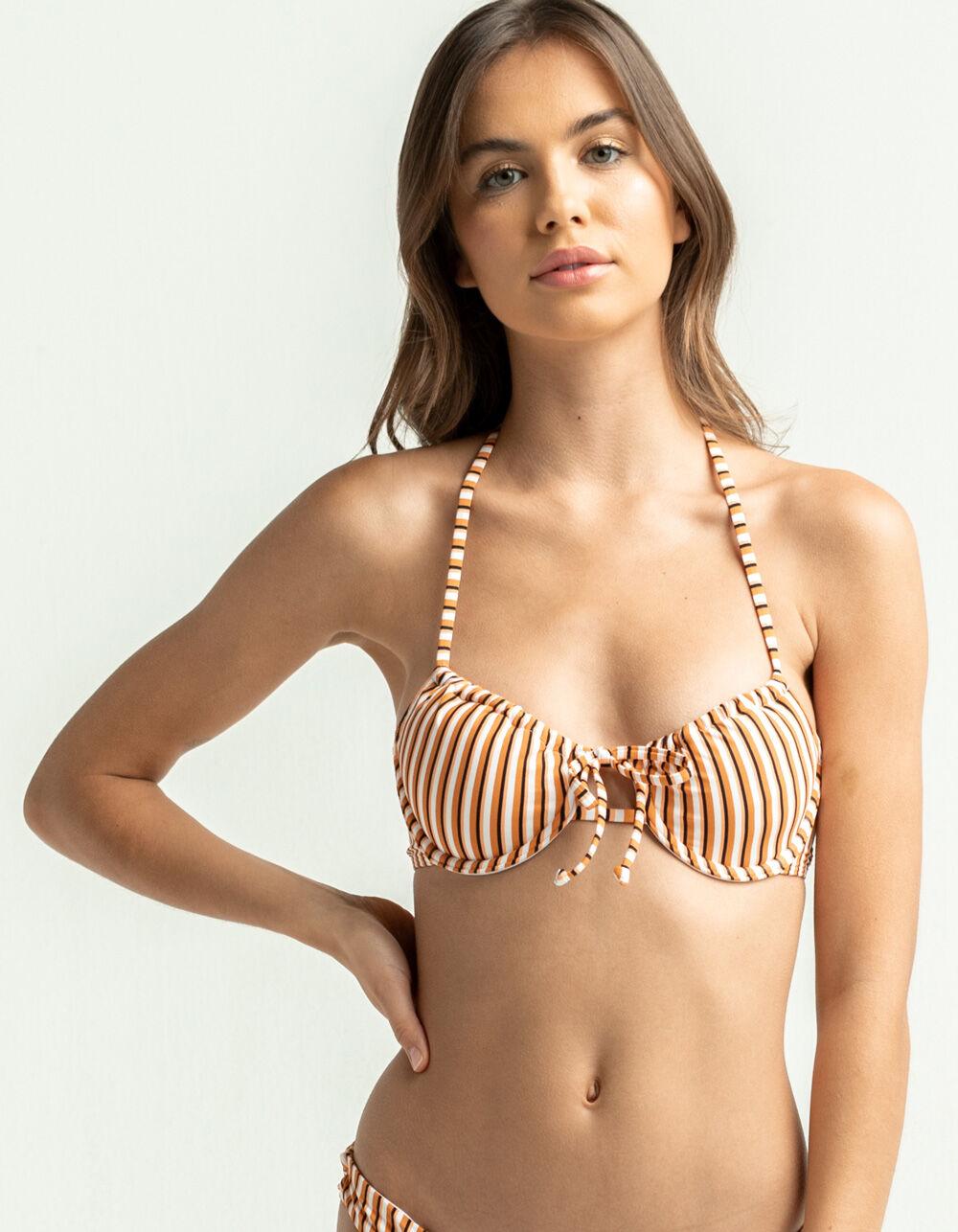 ROXY Printed Beach Classics Underwire Bikini Top