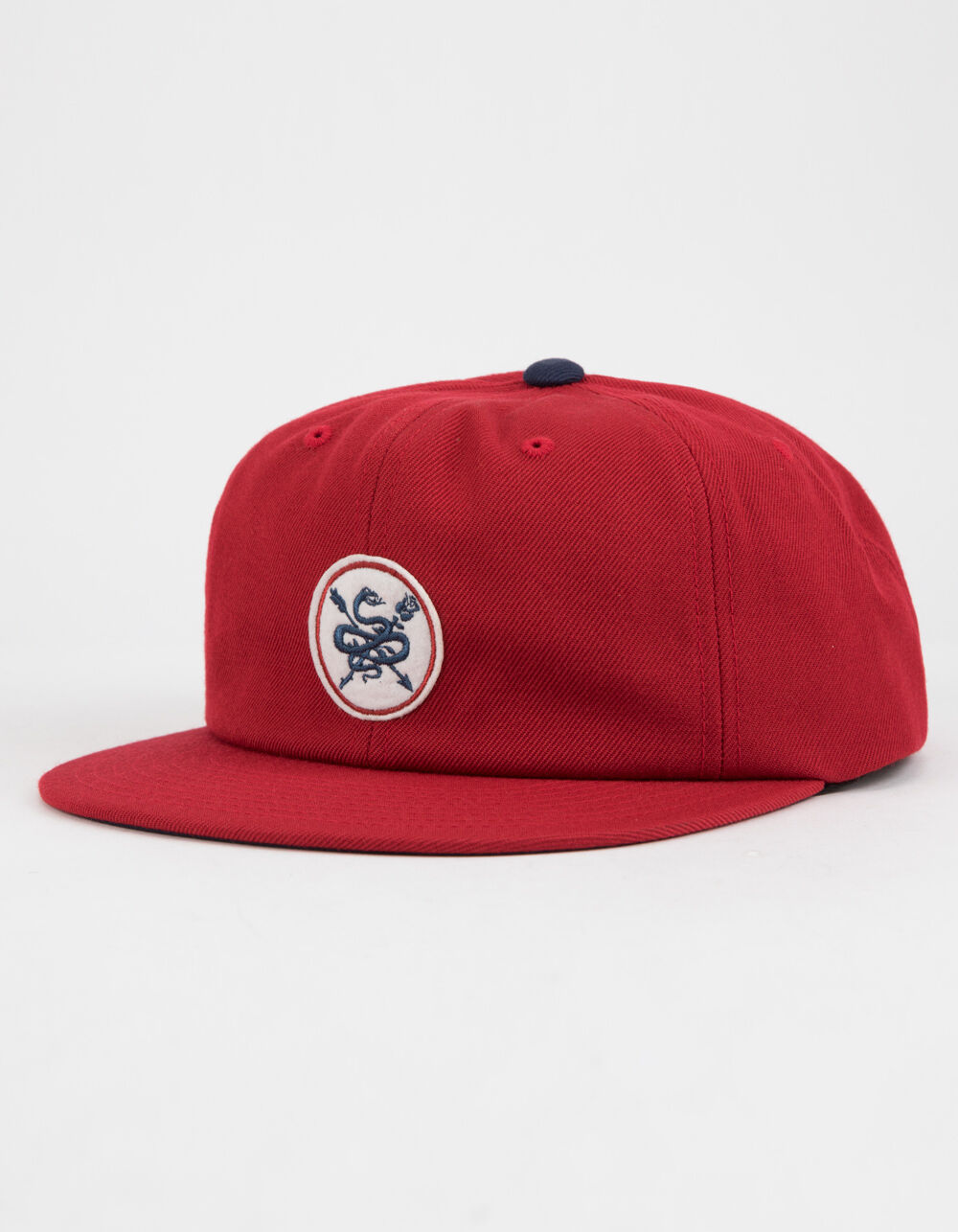 PRIMITIVE Serpent Black Snapback Hat