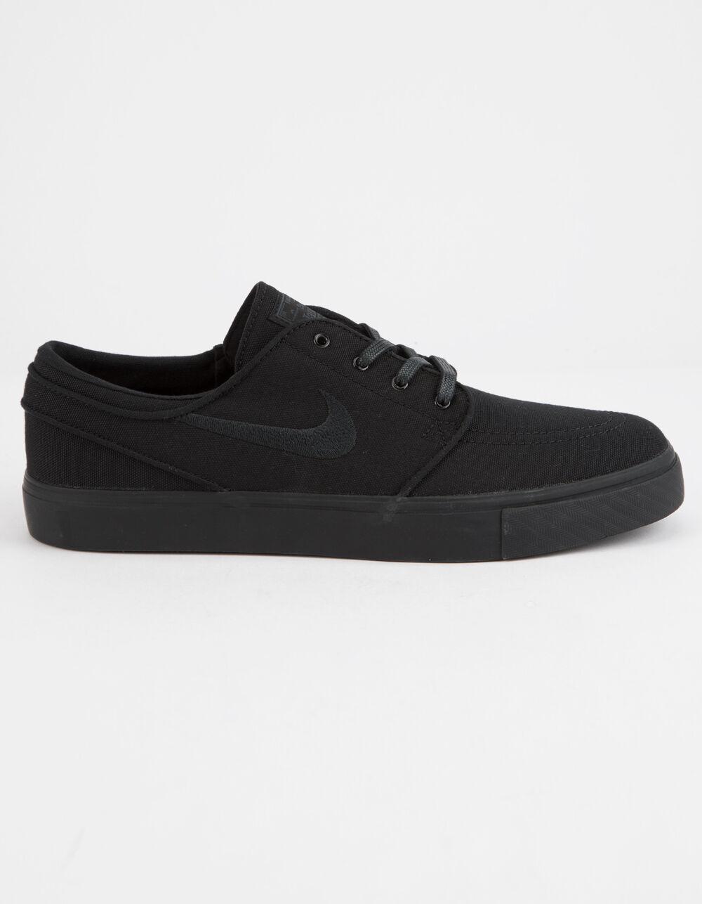NIKE SB Zoom Stefan Janoski Canvas Black & Black Shoes