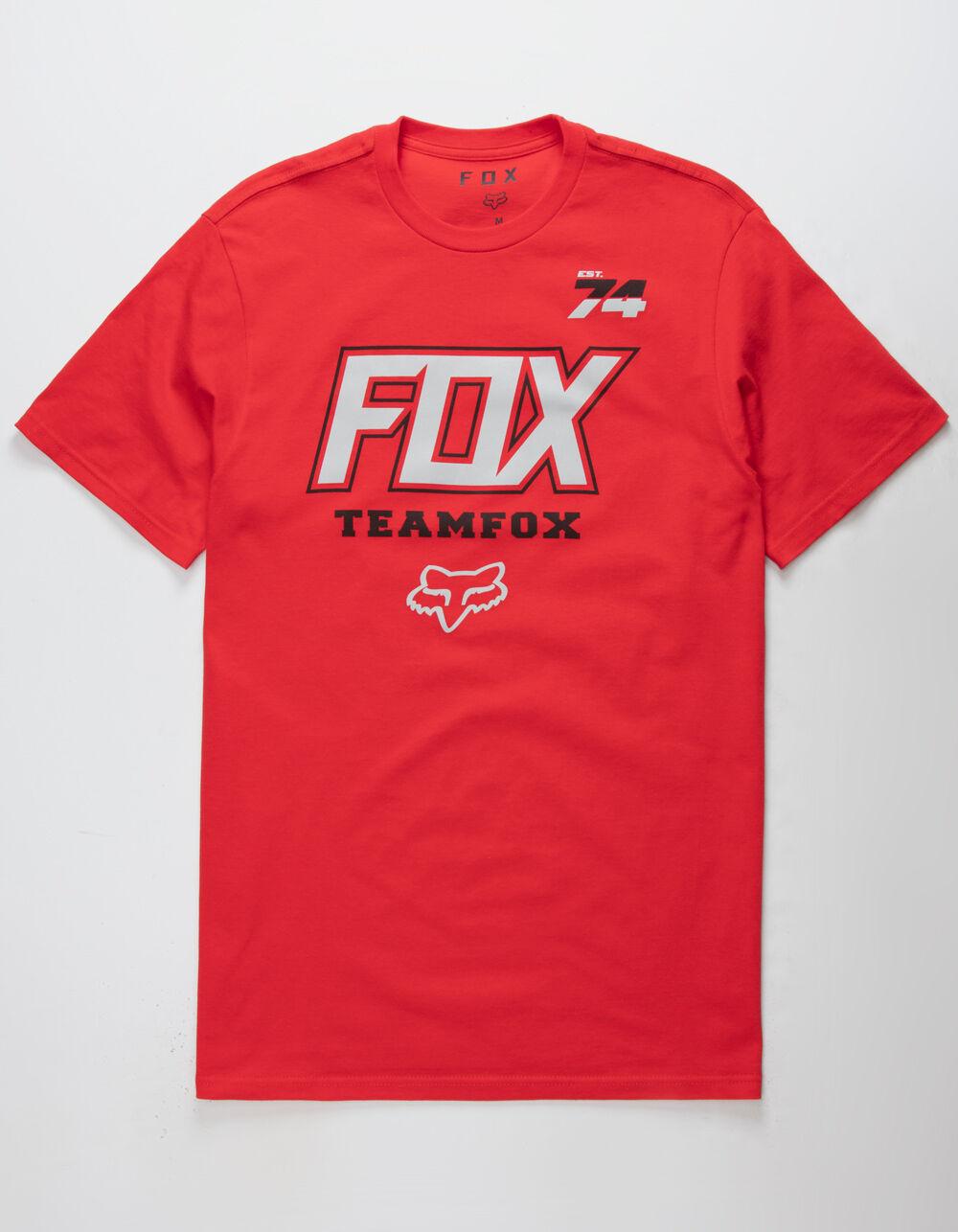 FOX Team Fox Red T-Shirt