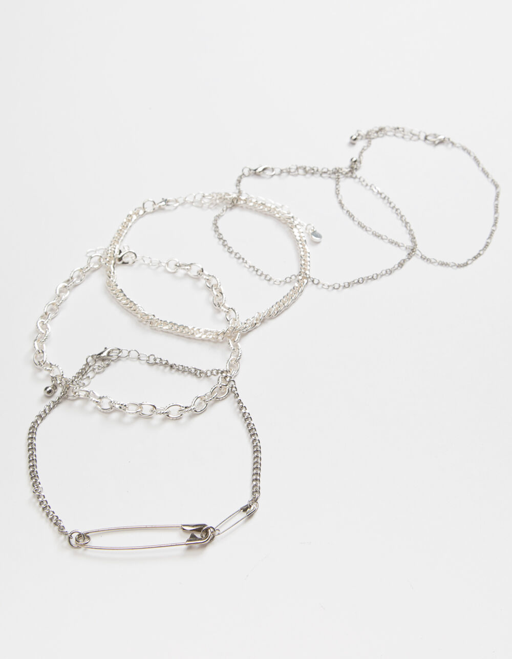 FULL TILT 5 Pack Safety Pin Bracelets