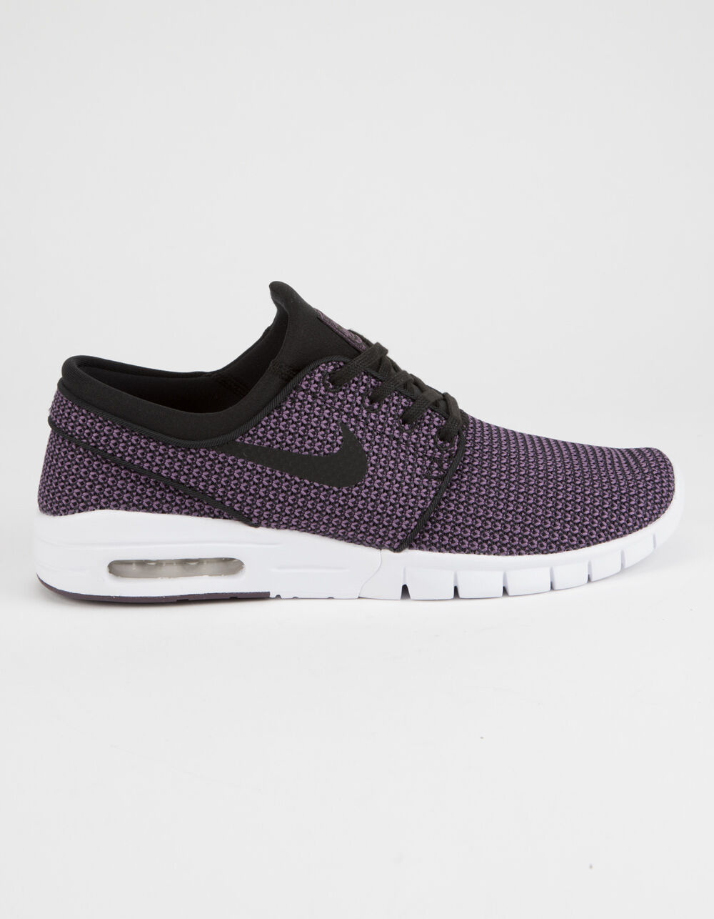 NIKE SB STEFAN JANOSKI MAX BLACK & PRO PURPLE SHOES