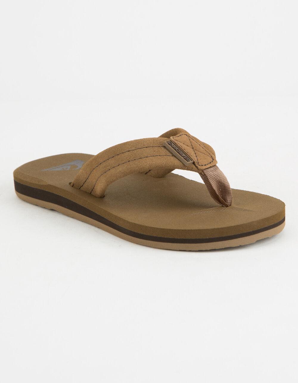 QUIKSILVER Carver Suede Boys Sandals