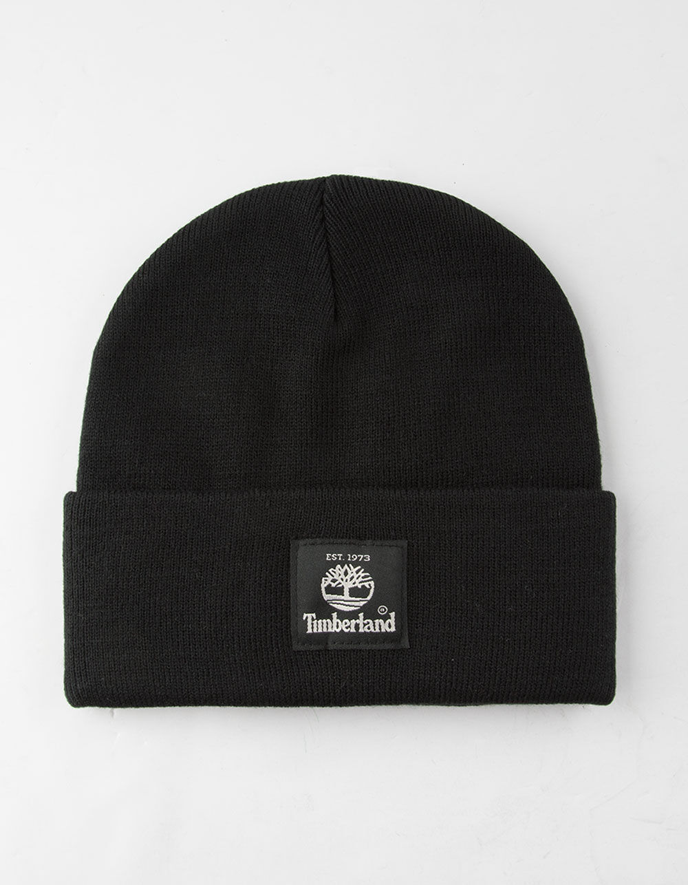 TIMBERLAND Short Watch Black Beanie