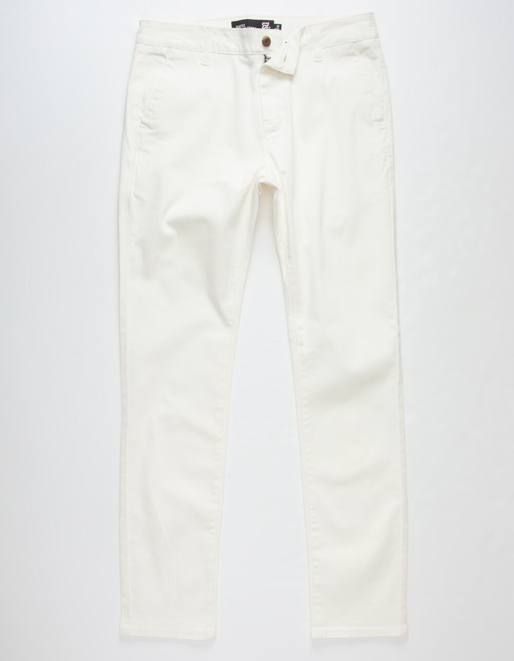 RSQ Seattle Skinny Tapered Stretch Off White Chino
