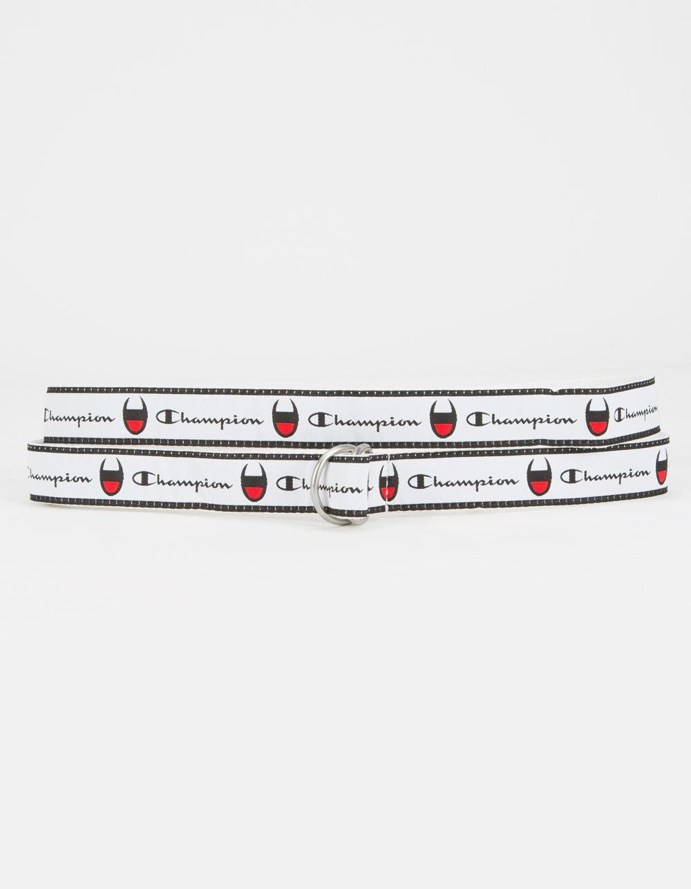 CHAMPION Cadet D-Ring White Belt