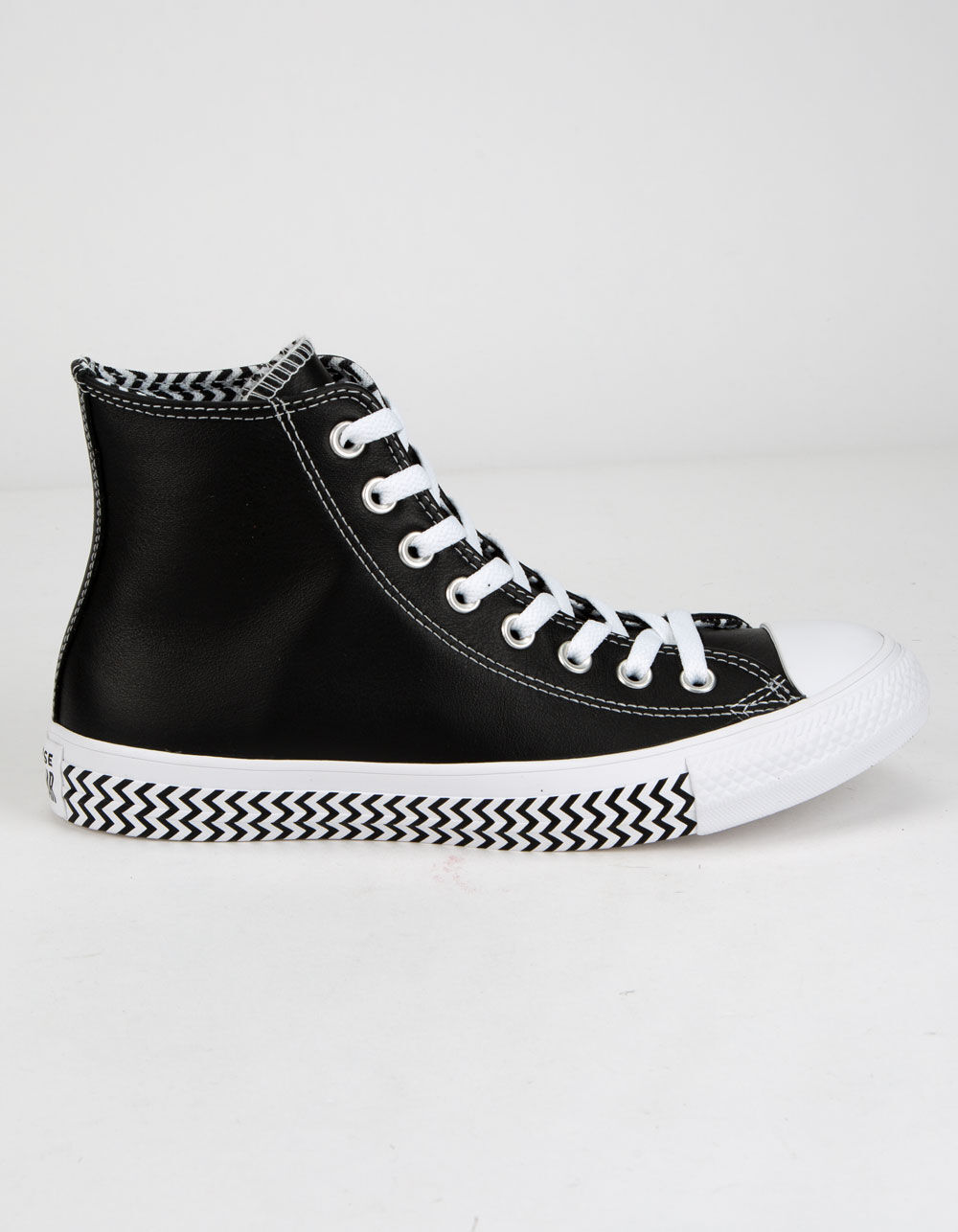 CONVERSE Mission V High Top Black & White Shoes