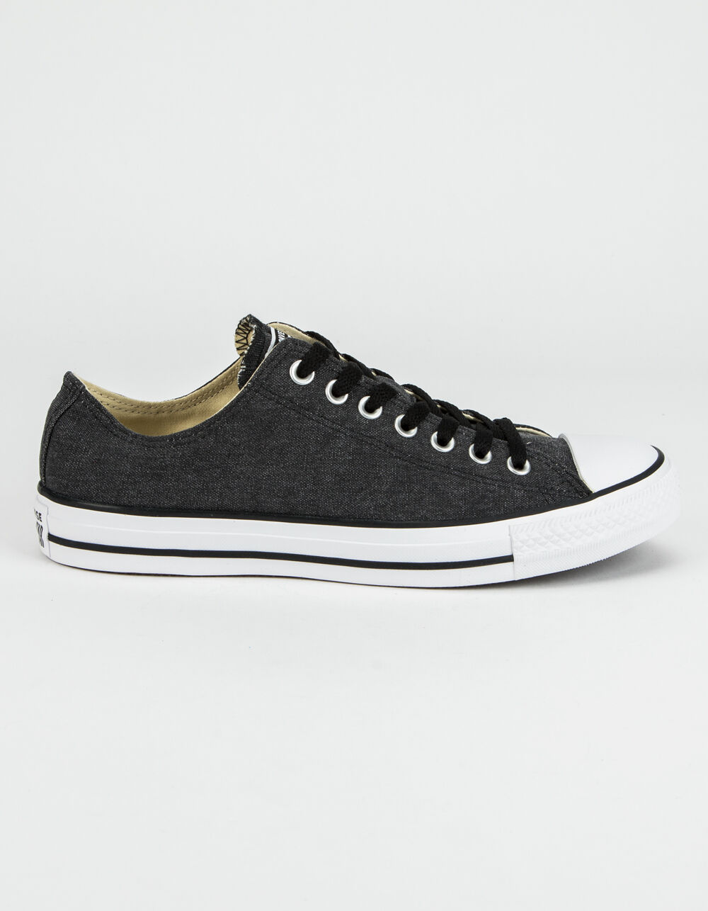 Image of CONVERSE CHUCK TAYLOR ALL STAR BLACK & WHITE LOW TOP SHOES