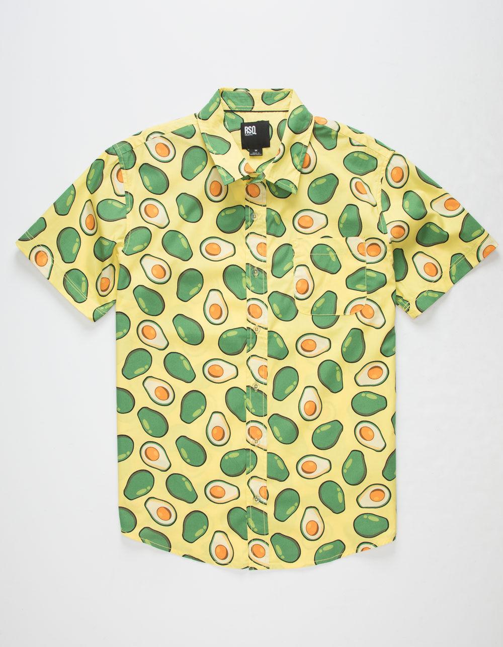 RSQ Avocado Shirt