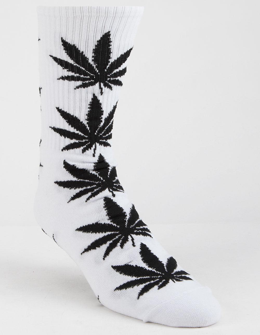 HUF Plantlife White Crew Socks