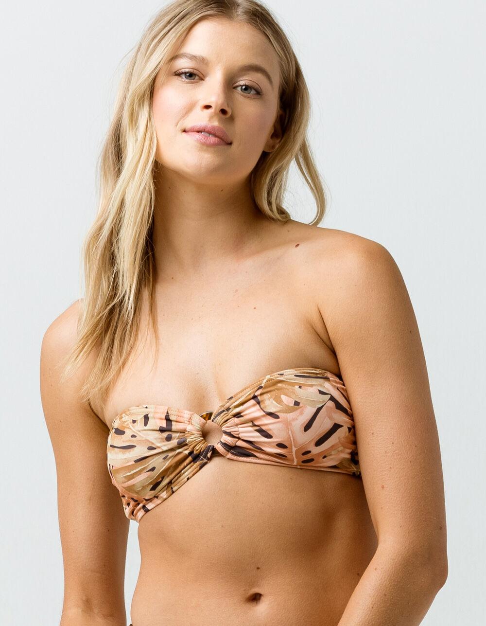BILLABONG Hula Palm Bandeau Bikini Top