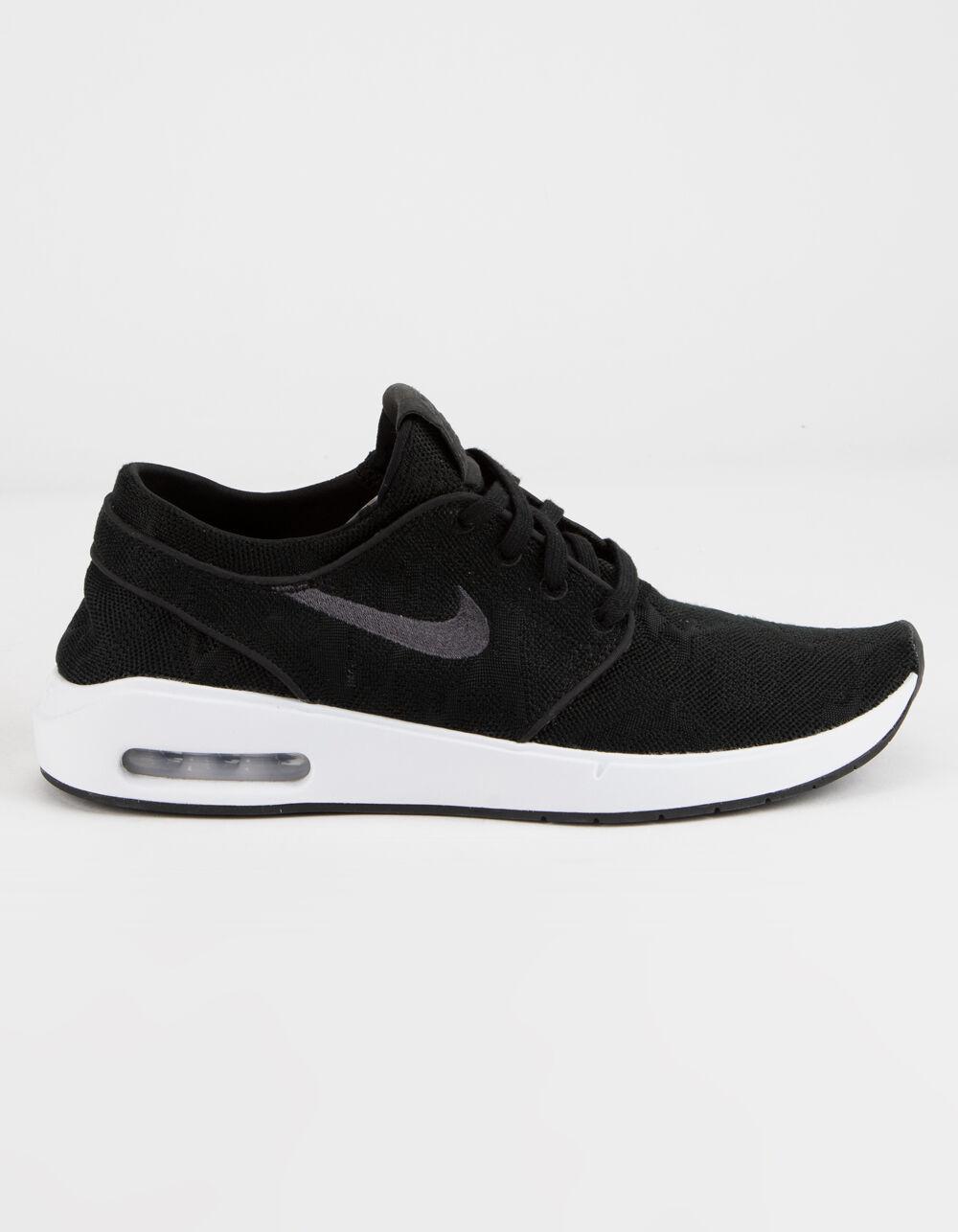 NIKE SB Stefan Janoski Max 2 Black & White Shoes