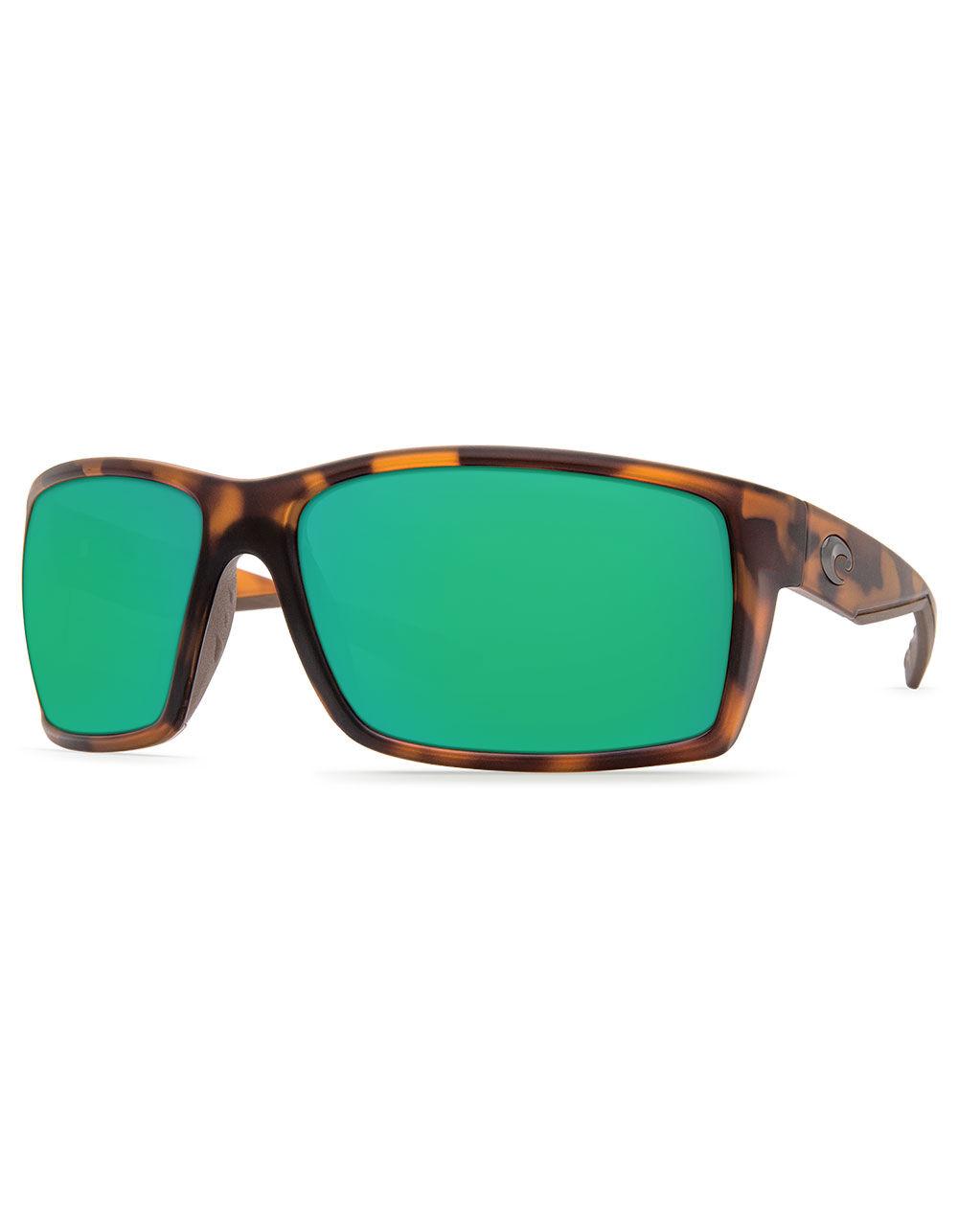 COSTA Reefton Tortoise & Green Polarized Sunglasses