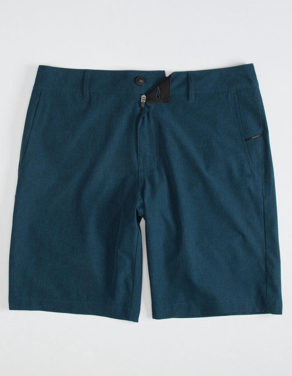 NITROUS BLACK Format Navy Hybrid Shorts