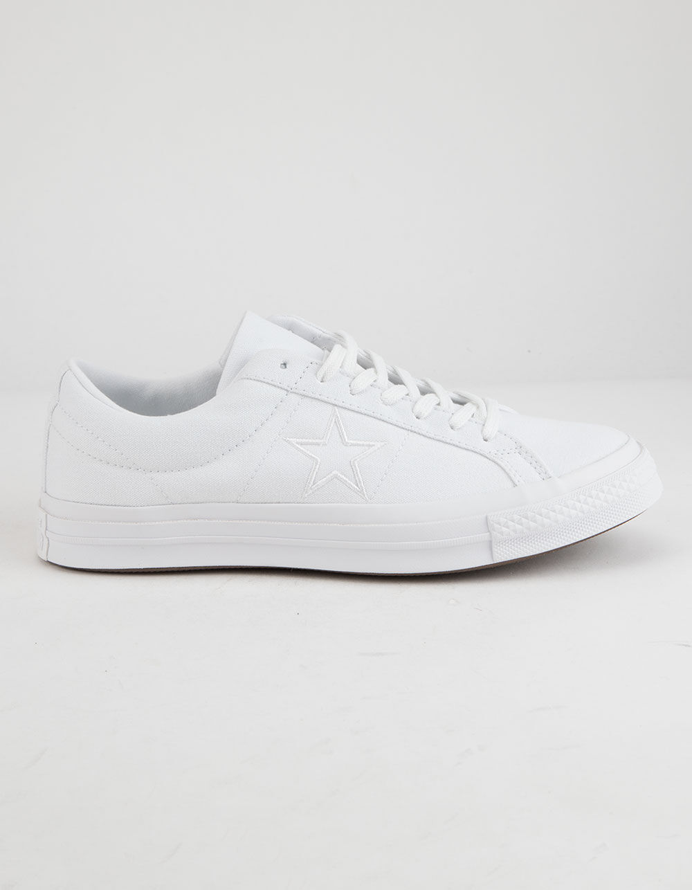 CONVERSE ONE STAR OX WHITE LOW TOP SHOES